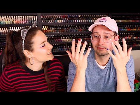 Why my boyfriend wears nail polish