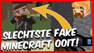DE SLECHTSTE FAKE MINECRAFT GAME OOIT!?