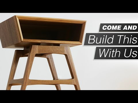 building-a-modern-side-table-/-nightstand---come-to-our-shop-and-build-one-with-us!