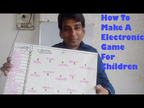 How To Make An Electronic Educational Game For Children || DIY Projects || Voice Tutorial