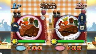 Fast Food Panic Nintendo Wii cooking Video game