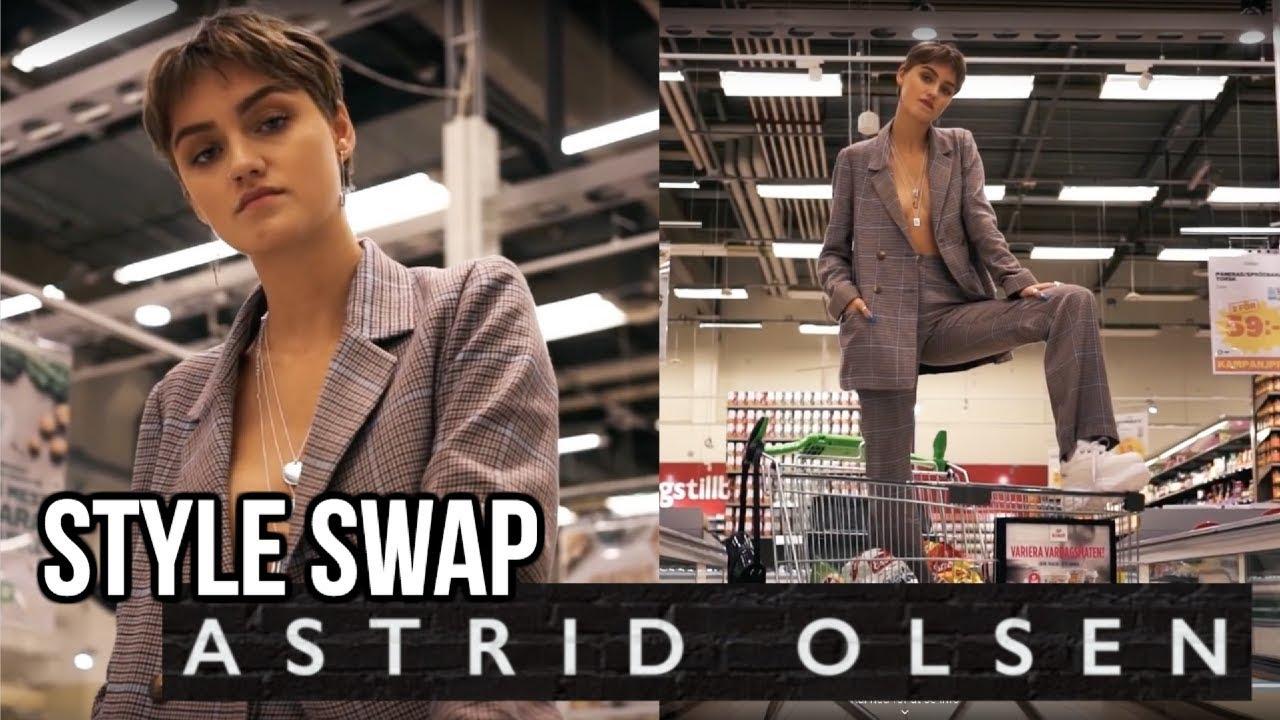 STYLE SWAP // ASTRID OLSEN