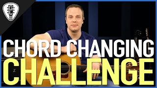 Chord Changing Challenge - Beginner Guitar Lesson