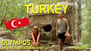BEST ANCIENT CITY IN TURKEY // OLYMPOS // Hitchhiking in Turkey // EP 11