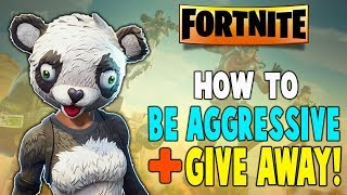 How To Be Aggressive In Fortnite Nintendo Switch!! + Give Away! - Fortnite Battle Royale Season 5