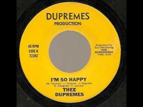 Thee Dupremes - I'm So Happy