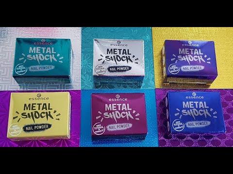 Essence Metal Shock Nail Powder | Ik deed het verkeerd