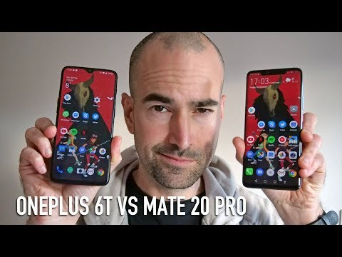 OnePlus 6T vs Mate 20 Pro | Side-by-side comparison