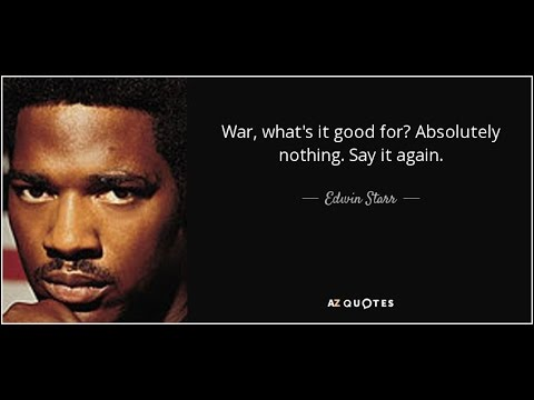 Edwin Starr - War - Isolated vocal track