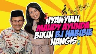Nyanyian Maudy Ayunda Bikin Presiden RI Ketiga BJ Habibie Menangis