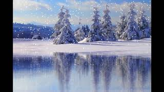 ♫ Soothing Relaxing Piano Music ♫ Snow By The Lake (Album: Snow And Piano)