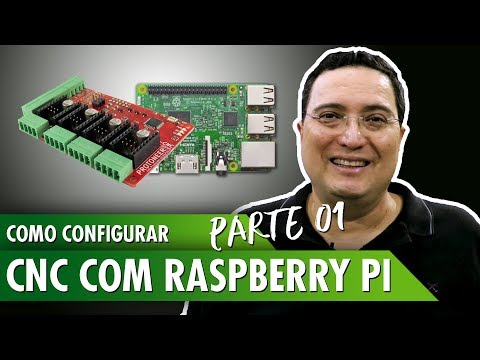 Como configurar CNC com Raspberry Pi