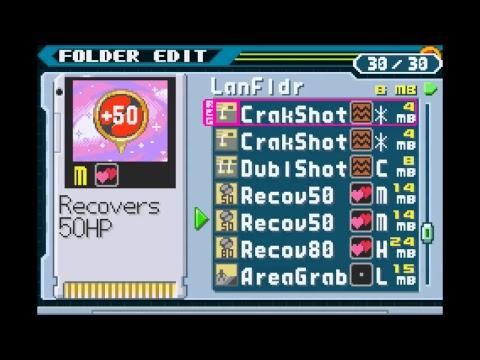 Mega Man Battle Network: Chrono X Demo 5.0.1 part 2