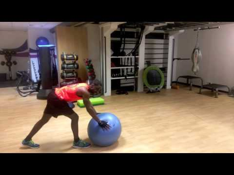 DON'T TRY THIS ?! - Exercise Ball Fail  - Handstand flip gone wrong!! Crash and Burn