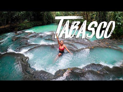 ¡Esto no es Costa Rica, es México! | Cascadas Villaluz, Tabasco ft.   @Aquiles Lara  y @sebitastrip