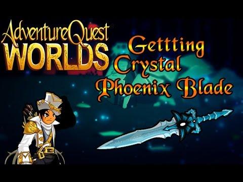 AQW - Getting Crystal Phoenix Blade of Nulgath! - Dumz