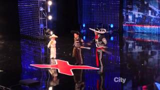 Mestizo Ballet Folklorico -  America's Got Talent 2013 Season 8 Auditions