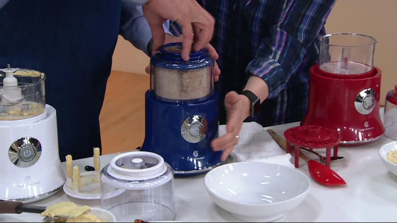 cook s essentials food chopper w scraper on qvc youtube