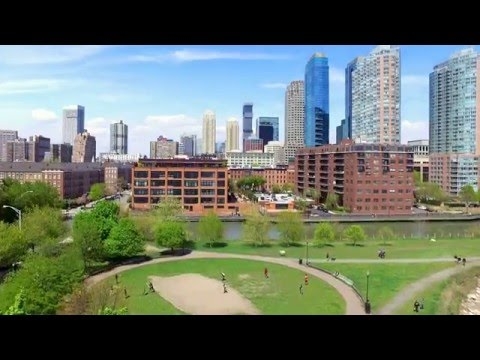 DJI Phantom 3 Test Flight Morris Canal Downtown Jersey City