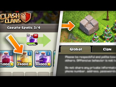 18 Things That Were Removed From Clash of Clans! - HaVoC Gaming