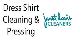 Laundering Your Dress Shirts from Janet Davis Dry Cleaners in Michigan