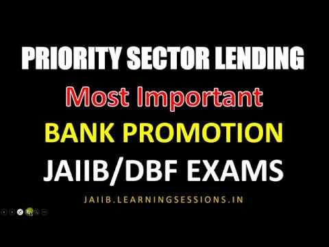 Priority Sector Lending Targets | PSL in detail RBI Guidelines FAQs JAIIB Bank Promotion Mp3