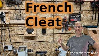 French Cleat Wand herstellen (flexible Werkzeugwand, mit OSB, DIY, selber bauen)
