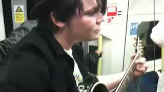 The Black Sparrows play on the tube