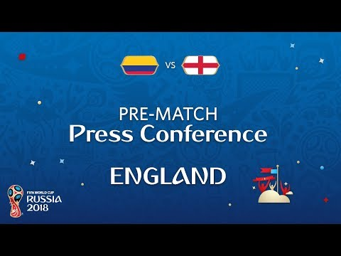 2018 FIFA World Cup Russia™ - COL vs ENG - England Pre-Match Press Conference