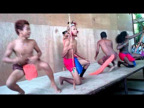 Aetas tribal dance