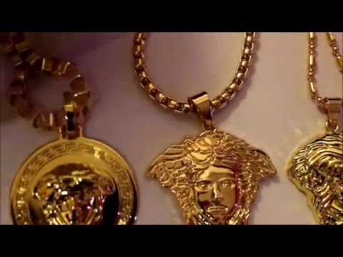 NEW 18K Gold Versace Style Chains!
