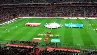 Польша - Казахстан: гимн Казахстана