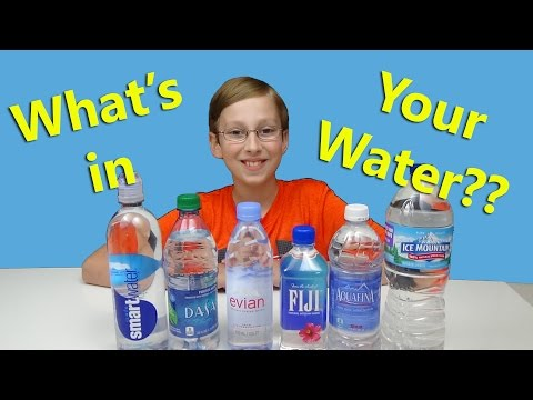 Bottled Water Quality Test - Do You Know What You Are Drinking? | CollinTV