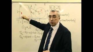 Задача на составление уравнения Лагранжа 2-го рода