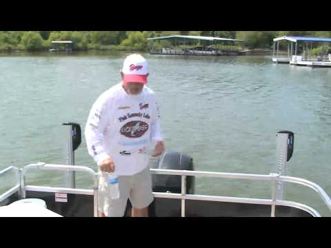 Pontoon Fishing with Kick'n Bass