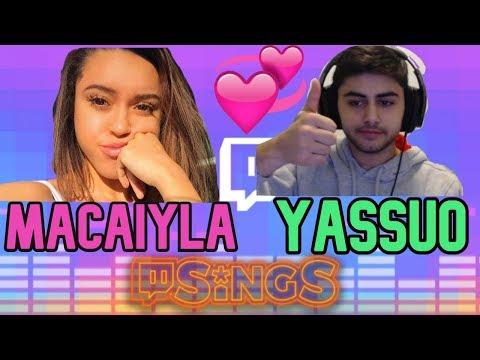 Yassuo Sings With Macaiyla Girlfriend!!!! Twitch Sings!
