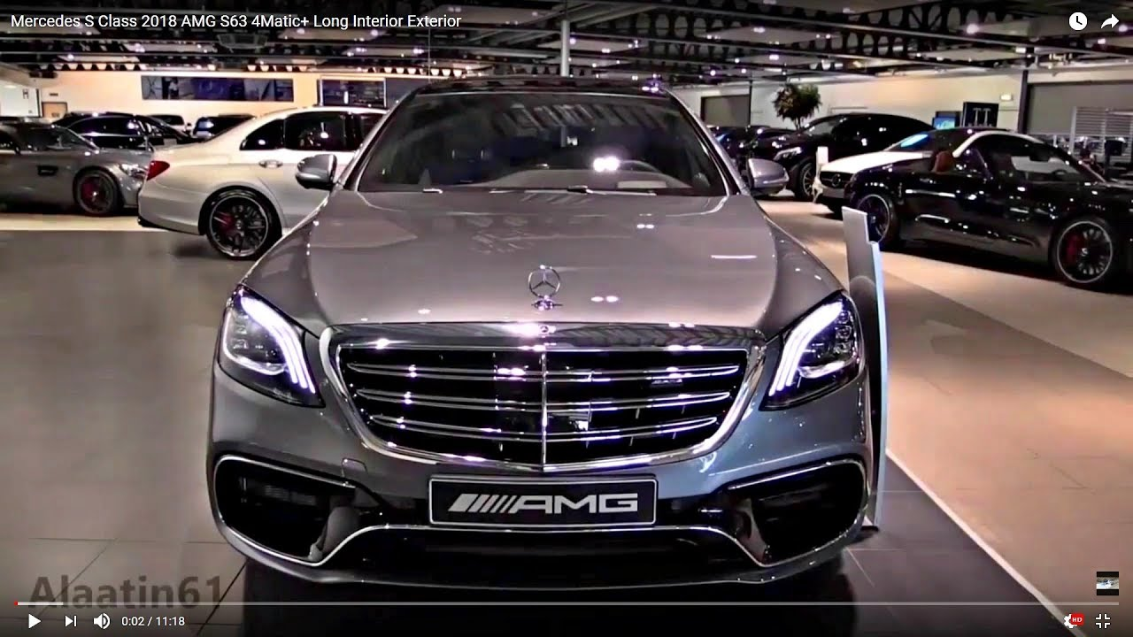 2018 Mercedes S Class Amg S63 Long New Full Review Youtube