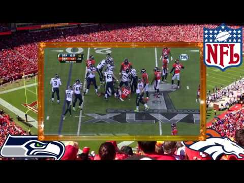 2014 Super Bowl XLVIII Seahawks 43 vs Broncos 8