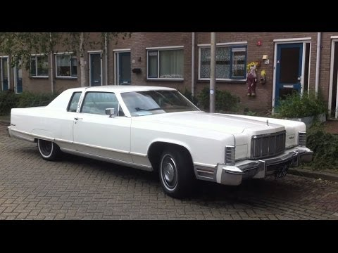 Clic 70's LINCOLN Continental proefrit 2011 - YouTube