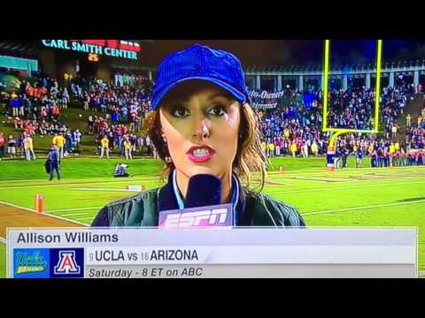 Worst Sideline Report Ever?