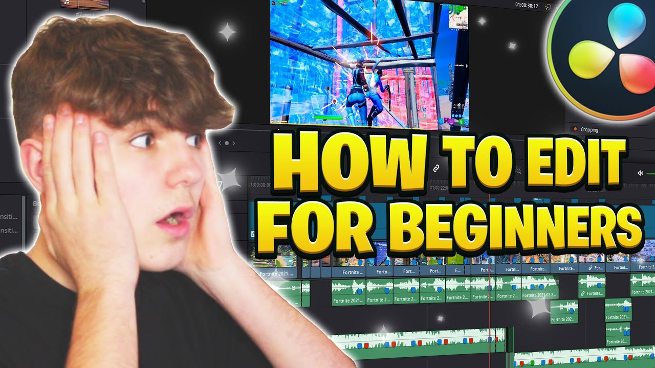 Download How to Edit a Fortnite Montage for BEGINNERS - Davinci Resolve Tutorial