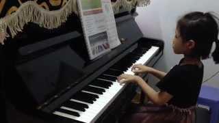 [Piano] Nào cùng nhảy vòng tròn - Minh Trang 4 tuổi rưỡi
