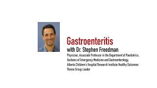 Trekk Talks – Gastroenteritis, Dr. Stephen Freedman 9/15/14
