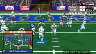 NFL 2012 TNF Week 11 - Miami Dolphins (4-5) vs Buffalo Bills (3-6) - 1st Half - NFL 2K5 - HD