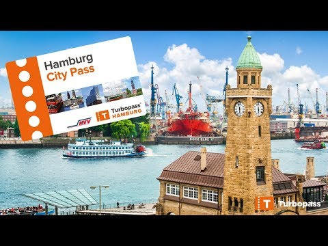 Hamburg City Pass with Free entries & Public transport - Video