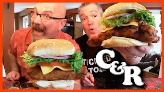 Popeye's Spicy Louisiana Chicken Sandwich - Cook&Review | KBDProductionsTV