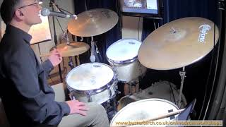 How to play a shuffle: Excerpt from Online Drum Workshop #07 (full 1hr session available)