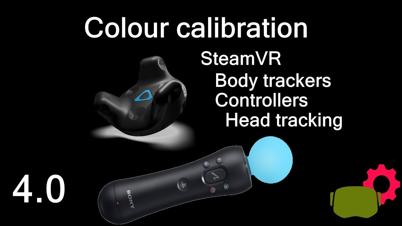 SteamVR calibration of colour trackers for Kinect - body tracking for  VRChat, head and hand tracking