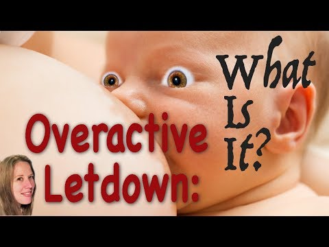 Breastfeeding and also the Let-Lower Reflex