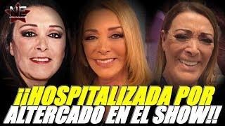 sylvia pasquel es hospitalizada por altercado en pleno show